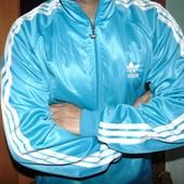Спортивная оригинал мастерка кофта Adidas .хл-2хл .