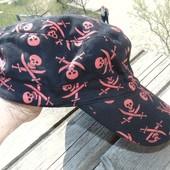 Стильная фирменная кепка пиратка бренд Delta.л-хл 58