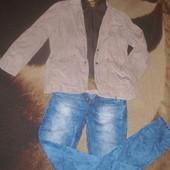 Тренд.Крутой пиджак 2 в 1 для самого стильного мужчины.Германия.Р укр 52-54.Оригинал