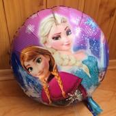Шар фольгированный Frozen. Анна и Эльза.