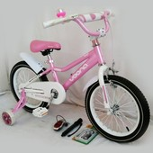 Детский двухколесный велосипед 16 N-100 pink