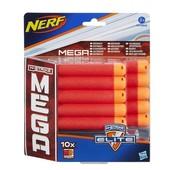Набор стрел hasbro nerf n-strike elite mega 10 шт Hasbro Nerf A4368