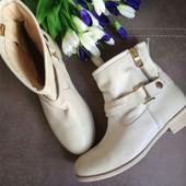 Кожа Италия Minelli Оригинал Новые ботинки, сапоги  37,38, 39размер