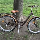 """Велосипед Ardis Messina 26"""" городской алюминиевый с тремя скоростями + подарок"""