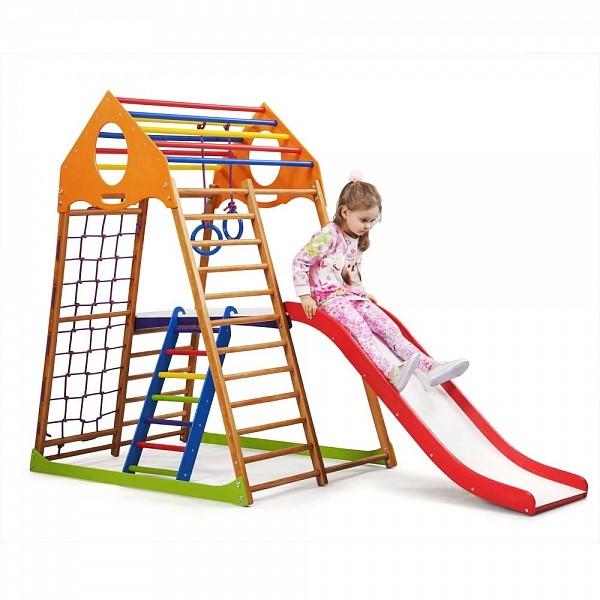 Детский спортивный комплекс для дома kindwood plus 2 фото №1
