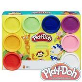 Плей-дох набор пластилина 8 баночек - по 56гр., Play-Doh (A7923)