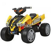 Детский квадроцикл с 2 моторами, колеса eva M 2394E-6