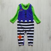 Яркий тематический человечек для мальчика. F&F. Размер 3-6 месяцев. Состояние: новой вещи