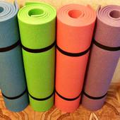 Каремат, коврик Комфорт для занятий аэробики, йоги, фитнес 1800х600х8мм