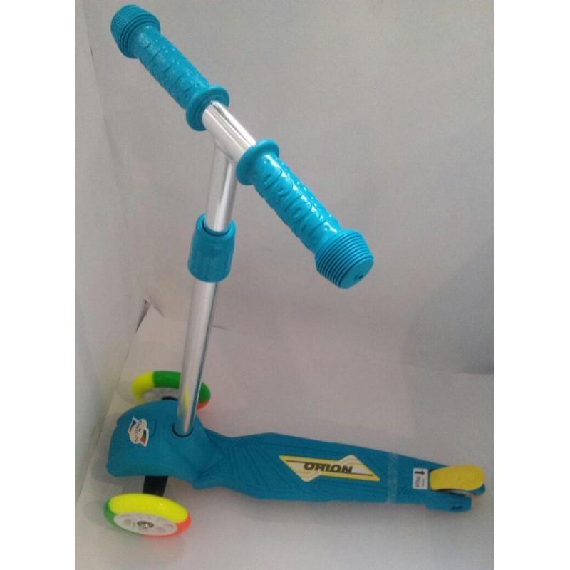 Самокат, цветные колёса, тм орион, арт: 164в.2цк фото №1