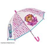 Зонтик Щенячий патруль Perletti прозрачный, детский зонт