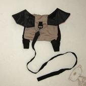 """Рюкзачок - поводок для малыша """"Летучая Мышь"""""""