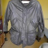 Куртка шкіряна розмір 48 євро Echtes Leder