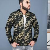 Качественная мужская куртка котон 46,48,50,52 (3