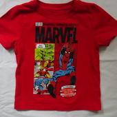 футболка George  на 2-3 года с любимыми героями