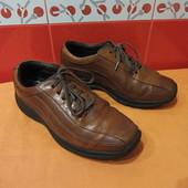 Туфли-кроссовки р.41,5 (8 W) Rockport от Adidas; очень мягкая натуральная кожа;