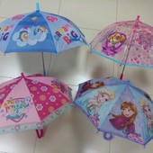 Детский зонтик для девочки, зонт фрозен, щенячий патруль, литл пони