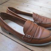 Туфли пенни лоферы Schuh, кожа, разм 37, стелька 24 см