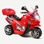 Детский мотоцикл Bambi subaki (M 0566) красный