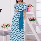 Размеры 42-54 Элегантное длинное женское платье