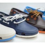Продам crocs (кроксы) топсайдеры мужские Beach Line Boat Shoe Men