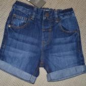 Нові стильні джинсові шорти NEXT розм. 3-4 р. в наявності!!!