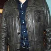 Стильная  брендовая кожаная курточка Magio Германия хл .
