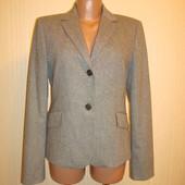 Пиджак шерстяной\шерсть, твидовый р.8-10 Mango