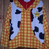 Primark(Cedarwood state) пижама-слип флисовая, мужская, размер L, рост 180-185 см