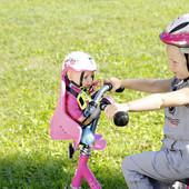 Велосипедное кресло сиденье для кукол  Zapf Creation 823712 куклы Baby Born