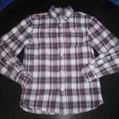 плотная рубашка Mark Spencer 10-11 лет ,146 см  100% котон