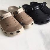 Мужские кожаные сабо Crocs Yukon - в наличии