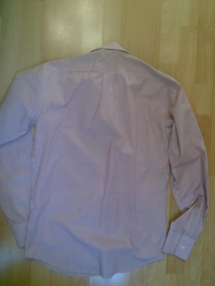 Фирменная рубашка m фото №2