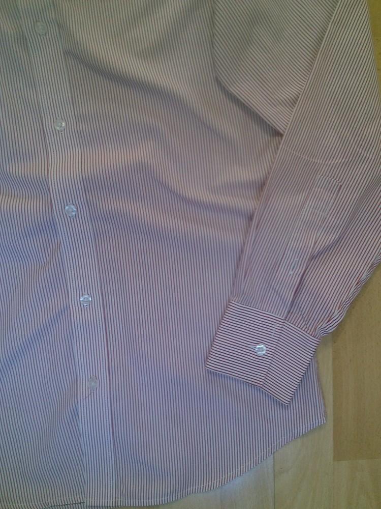 Фирменная рубашка m фото №5