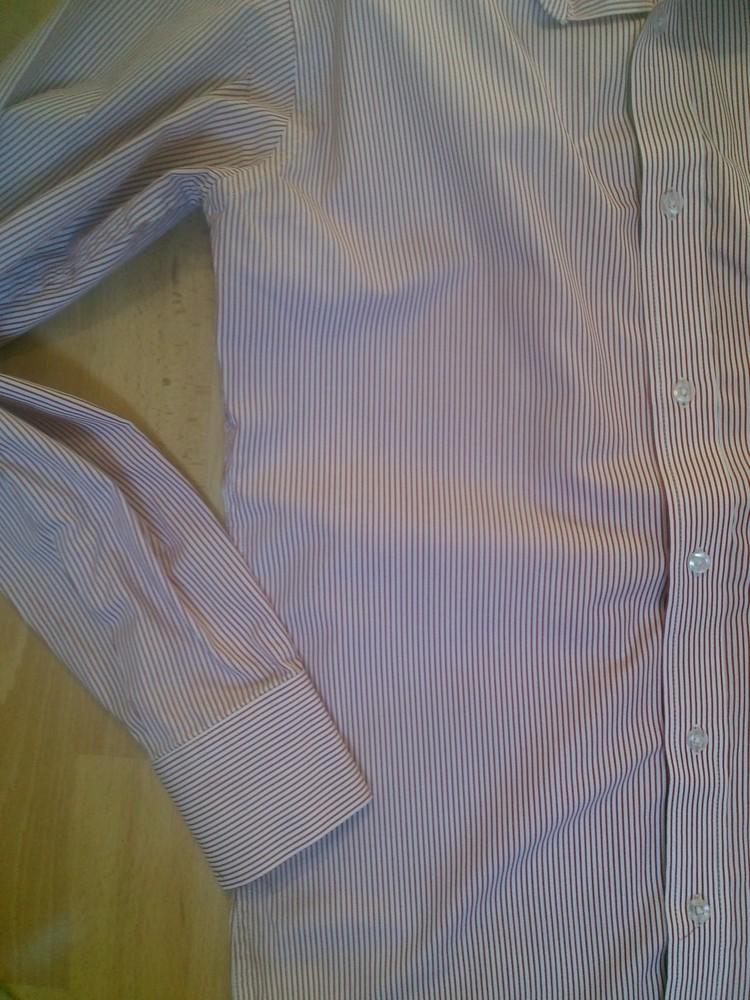 Фирменная рубашка m фото №7