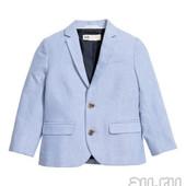Голубой пиджак на 4-5 лет фирма H&M
