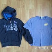 спортивний светр та футболка Old Navy 4-6 років