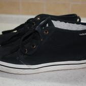 Adidas утепленные кроссовки кеды ботинки 36р