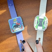 Часы электронные детские с мульт героями