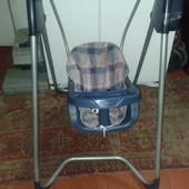 Детские кресло-качели, столик для кормления Graco
