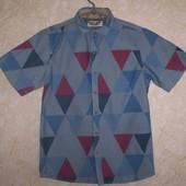 рубашка тениска Next  11 лет, 146 см 100% котон
