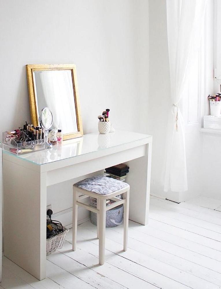 компактный туалетный столик Malm от икеа икея Ikea красивый