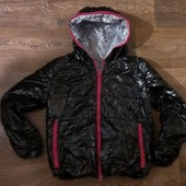 классная демисезонная курточка, как новая, р.158-164