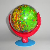 Шар погремушка на присоске PlayGro шум дождя каскад