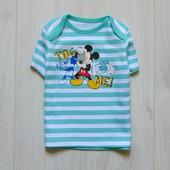 Яркая футболка для мальчика. Disney. Размер 3-6 месяцев. Состояние: новой вещи, не ношенная
