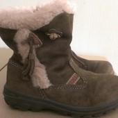 качественные итальянские зимние ботинки сапожки, р.26,15,8см