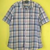 Рубашка тениска Lincoln ХЛ 50-52 р-р 100% хлопок. Длн. - 79 см, ширина по плечам - 52.5 см, ширина п