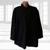 Плотная черная рубашка  р.3XL Dickies Сша