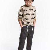 Новые джоггеры H&M для мальчика  до 98 см.