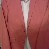 Модный коралловый костюм Crane на выпускной 46р.